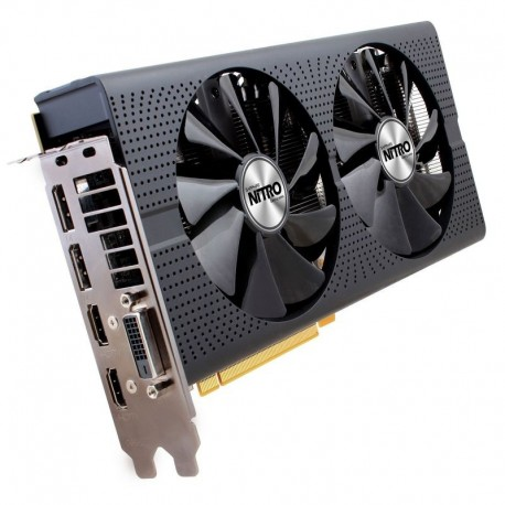 PLACA GRÁFICA SAPPHIRE AMD RX 580 NITRO+ OC 4GB GDDR5 DVI-D 2 X HDMI PCI-E
